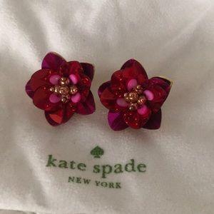 kate spade Jewelry - Kate Spade Statement Earrings (clip on)